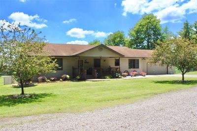 Waterloo Single Family Home For Sale: 2424 Trout Camp Road