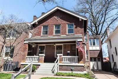 St Louis Single Family Home For Sale: 7133 Waterman Avenue