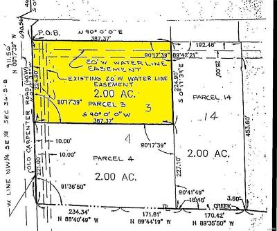Madison County Residential Lots & Land For Sale: Lot 3 Fields Creek