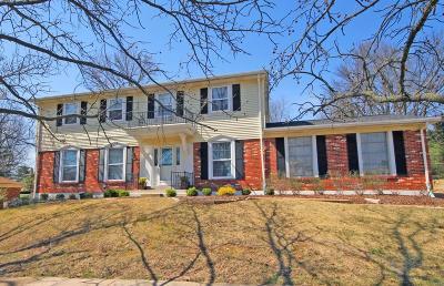 Ballwin Single Family Home For Sale: 1021 Van Dyke Drive