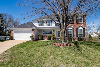 Ballwin Single Family Home For Sale: 629 Charleston Oaks Drive