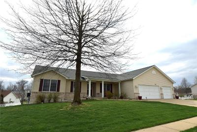 Wentzville MO Single Family Home For Sale: $279,900