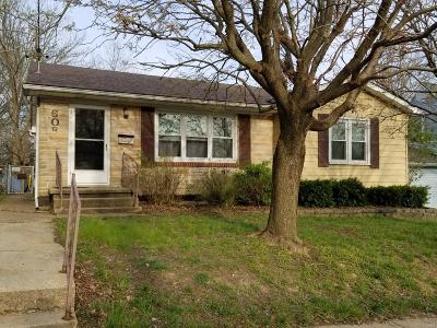 Franklin County Single Family Home Contingent No Kickout: 608 North Church Street