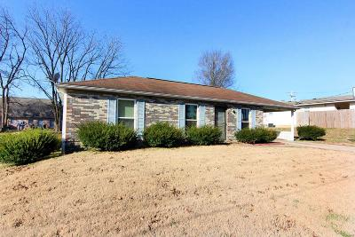 Cape Girardeau County Single Family Home For Sale: 245 North West Lane