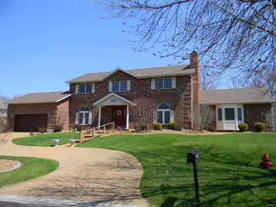 Edwardsville Single Family Home For Sale: 33 Country Club View Drive