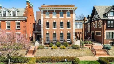 St Louis Condo/Townhouse For Sale: 43 Maryland Plaza #C