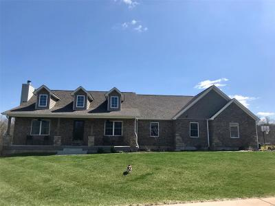 Wentzville MO Single Family Home For Sale: $444,999