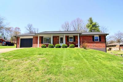 Cape Girardeau County Single Family Home For Sale: 1814 Meyer Drive