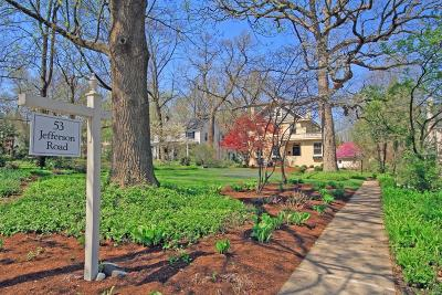 Single Family Home For Sale: 53 Jefferson Road
