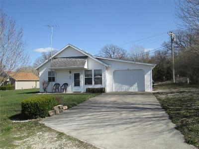 Monroe City MO Single Family Home For Sale: $89,500
