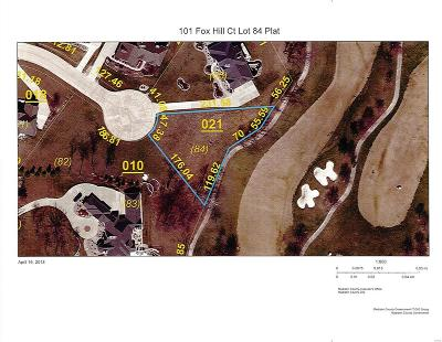 Edwardsville Residential Lots & Land For Sale: 101 Fox Hill Court