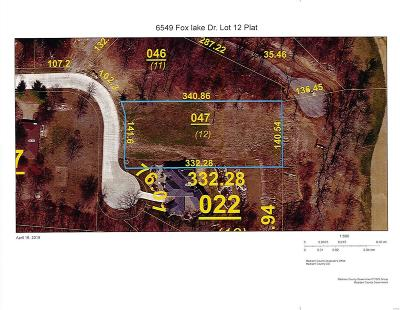 Edwardsville Residential Lots & Land For Sale: 6549 Fox Lake Drive