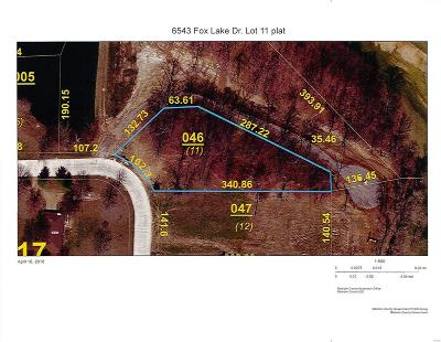 Edwardsville Residential Lots & Land For Sale: 6543 Fox Lake Drive