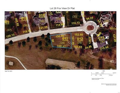 Edwardsville Residential Lots & Land For Sale: 6622 Fox View Drive