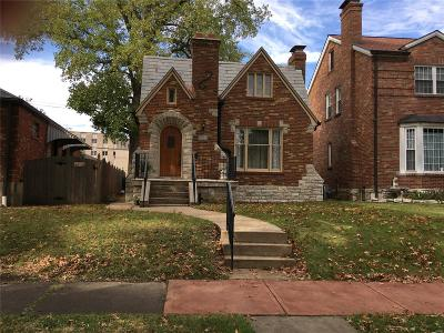St Louis City County Single Family Home For Sale: 6547 Devonshire Avenue