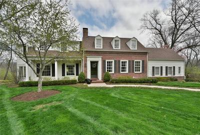 Ladue Single Family Home For Sale: 5 Briarcliff