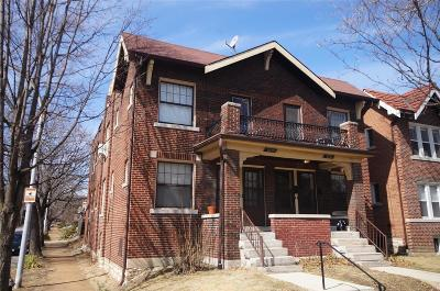 St Louis City County Multi Family Home For Sale: 2027 Alfred Avenue