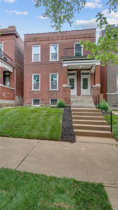 St Louis City County Single Family Home For Sale: 3880 Humphrey Street