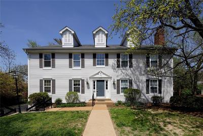 University City Condo/Townhouse For Sale: 809 North Hanley #D