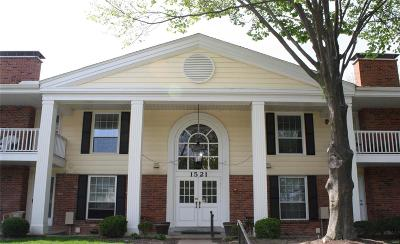 Chesterfield Condo/Townhouse Contingent No Kickout: 1521 Hedgeford Drive #11