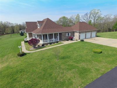 Festus Single Family Home Contingent w/Kickout: 13989 Dry Fork Rd