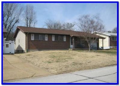 Arnold Single Family Home For Sale: 3308 Boca Raton