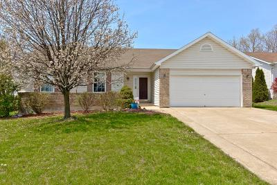 Wentzville Single Family Home Contingent No Kickout: 73 Tulip Bend Drive