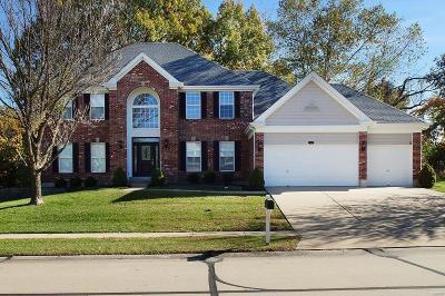 Ellisville Single Family Home For Sale: 556 Autumn Bluff Drive