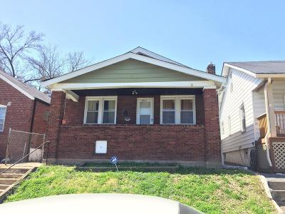 St Louis Single Family Home For Sale: 6064 Shulte Avenue