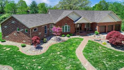 Glen Carbon Single Family Home For Sale: 6848 Middlegate Lane