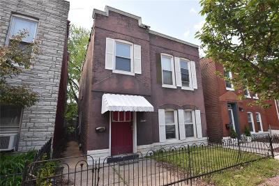 St Louis City County, St Louis County Single Family Home For Sale: 3541 Illinois Avenue