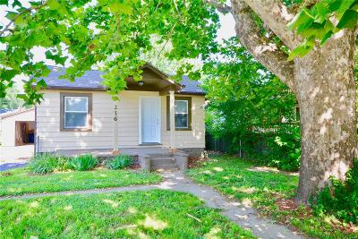 Wood River Single Family Home For Sale: 216 South Central Avenue