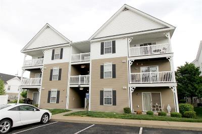 Condo/Townhouse Contingent No Kickout: 9740 Bexley Station #7C