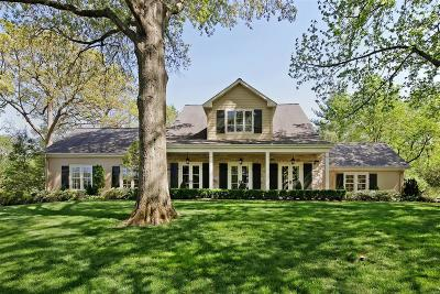 Ladue Single Family Home Contingent No Kickout: 10185 Springwood