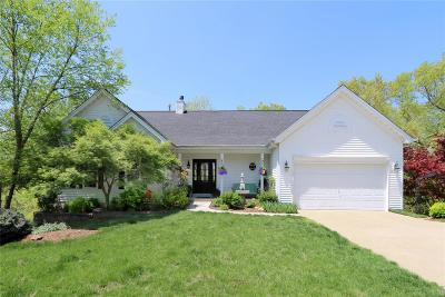 Ballwin Single Family Home Contingent w/Kickout: 589 Wetherby Terrace Drive