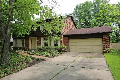 Chesterfield MO Single Family Home For Sale: $280,000