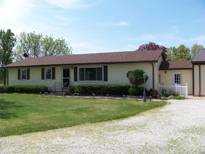 Bowling Green Single Family Home Contingent No Kickout: 17448 Pike 277