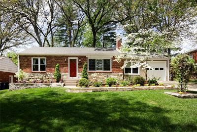 Webster Groves Single Family Home Option: 1203 Cheshire Lane