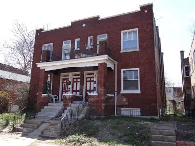 St Louis City County Multi Family Home For Sale: 2645 Winnebago
