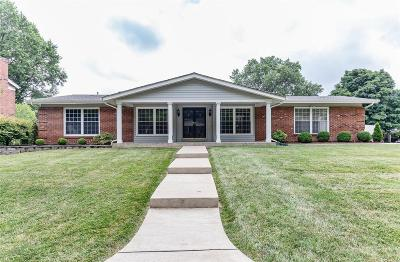 Chesterfield MO Single Family Home For Sale: $399,950