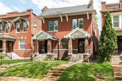 St Louis City County Single Family Home For Sale: 6037 McPherson Avenue