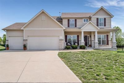 Wentzville Single Family Home For Sale: 5 Panorama Pointe Manor