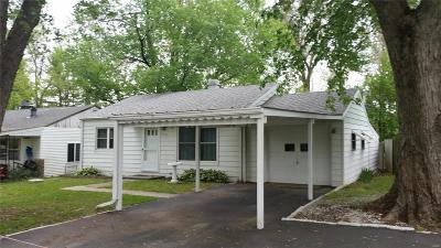 Fairview Heights Single Family Home Contingent No Kickout: 9702 Mark Trail