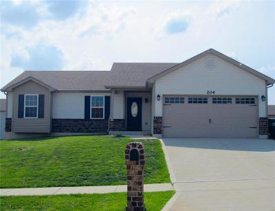 Wentzville Single Family Home For Sale: 204 Shadow Glen Lane