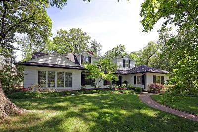 Ladue Single Family Home For Sale: 57 Clermont Lane