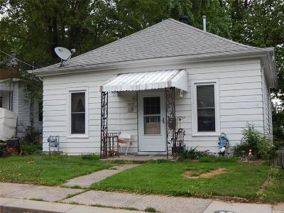 Alton IL Single Family Home For Sale: $43,000