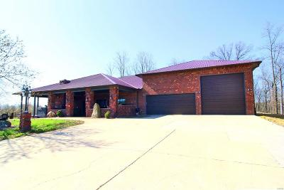 Cape Girardeau County Single Family Home For Sale: 840 Whitetail Valley