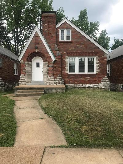 St Louis City County Single Family Home For Sale: 6030 North Pointe Boulevard