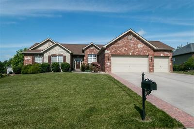 Belleville Single Family Home For Sale: 3121 Canyon Creek