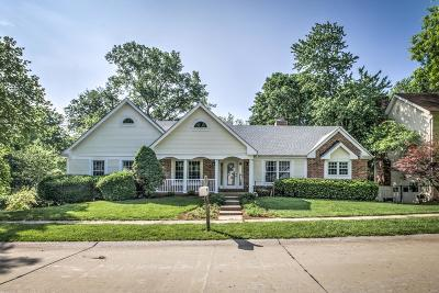 Single Family Home For Sale: 342 West Manor Drive